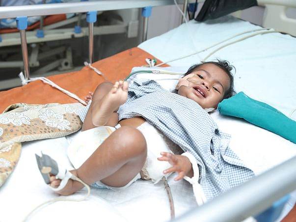 11 months old Saniya Malik needs your help fight Intra-abdominal tumor malignancy