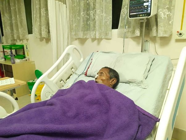 Help My Father Fight Kidney Stone And To Recover From Covid