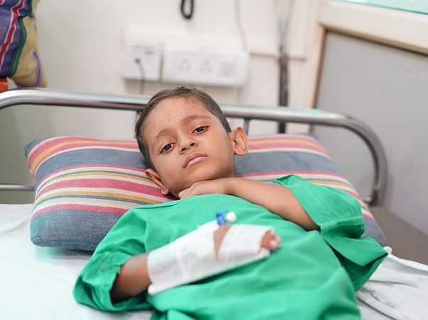 His Pain Is Visible In His Cries For Help, He Needs Urgent Transplant