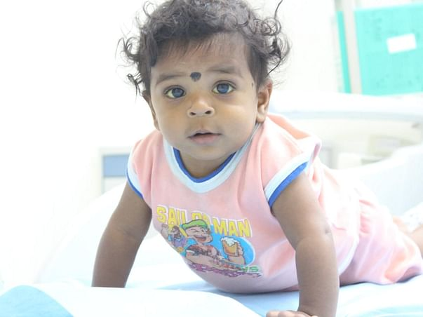 7 months old Balanagu  Needs Your Help Fight Liver Transplantation