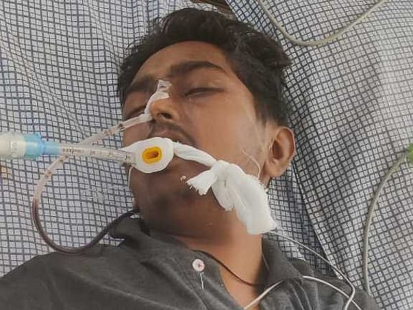 21 Years Old Raghav Gupta Needs Your Help Fight Cancer Last Stage