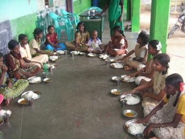 Feeding Orphan Children