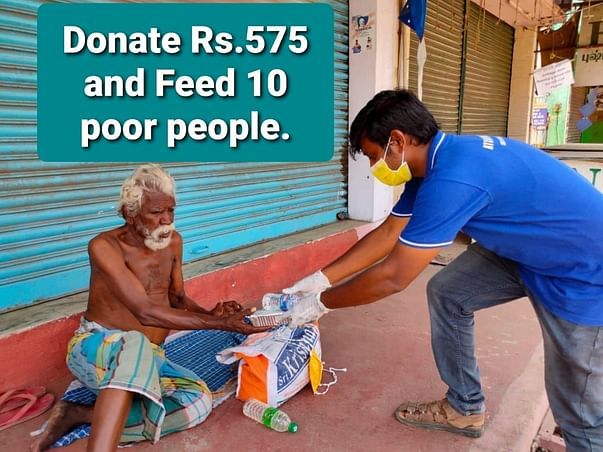 """MISSION """"FEED HUNGRY PEOPLE."""""""