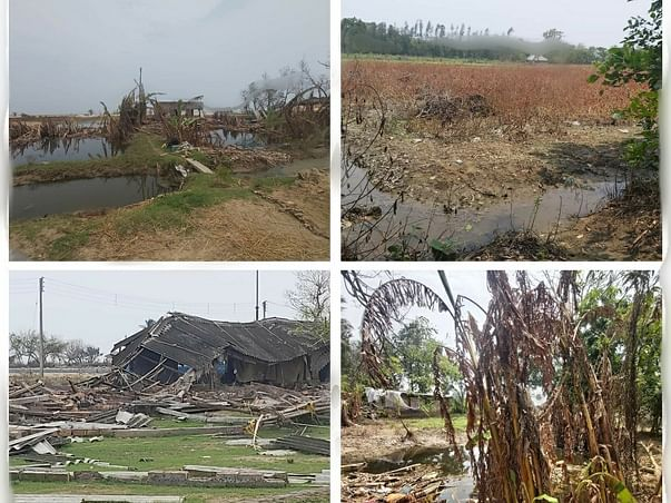 Help The Villagers to recover severe damages from Yaas cyclone #urgent