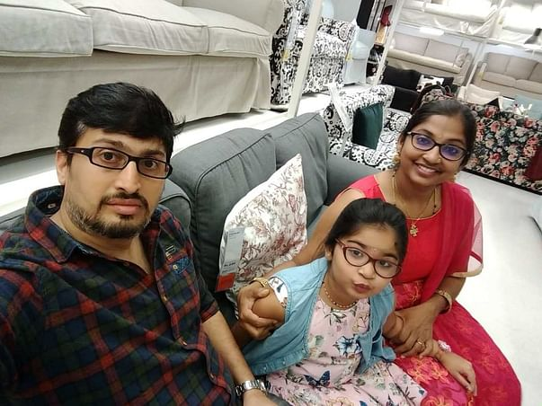In Memory Of Suneel Bhat, Support For His Daughter Saanvi