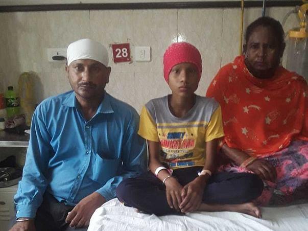 Help Ajeet Fight To Bone Cancer