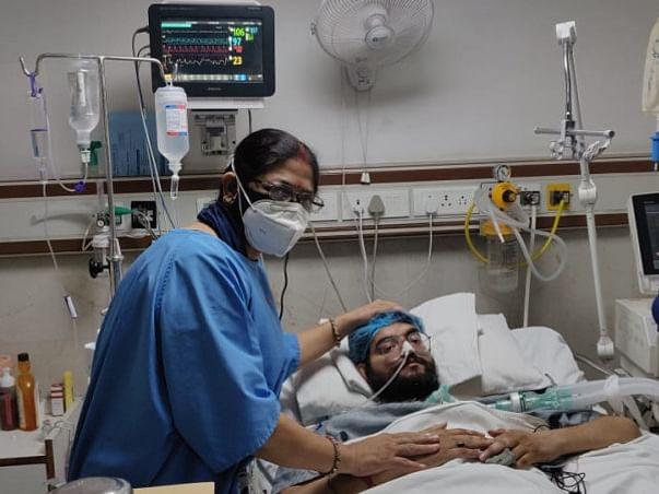 26 years old Amitesh Srivastava needs your help fight Pneumothorax