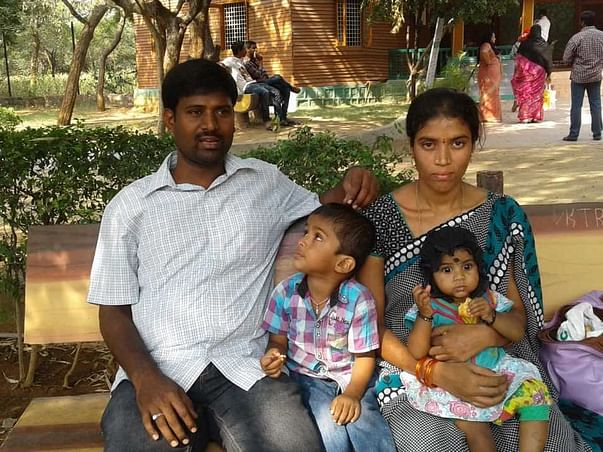This Young Family Lost Their bread winner.Pls help fund Kids Education