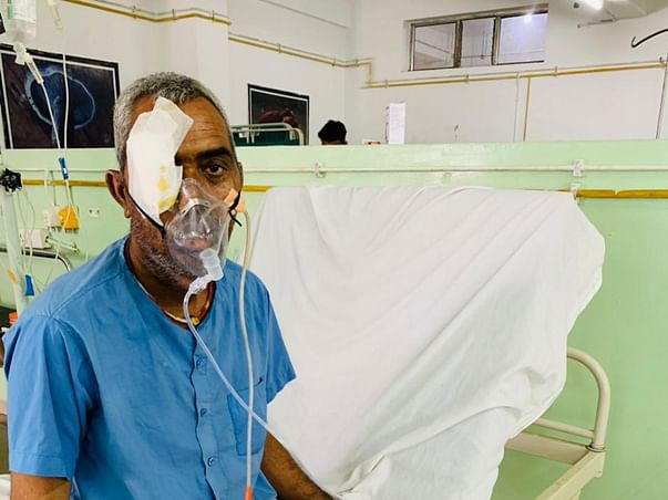 Support Mannalal Gadoliya Lohar Recover From Mucormycosis