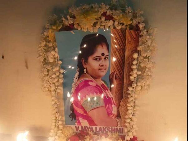 Support Jayalakshmi's family after her untimely demise