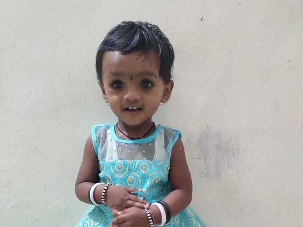 My 2 years old daughter has not heard my voice till now.. Help her undergo cochlear implant..