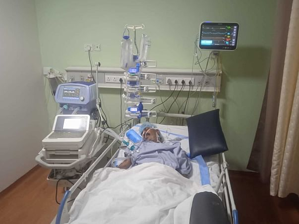 Help My Father Recover From Post Covid-19 Complications