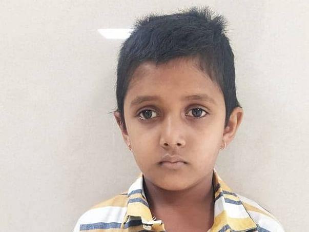 10 years old Ankit V Bangennavar needs your help fight Third Ventricular Craino with Hydrocephalus