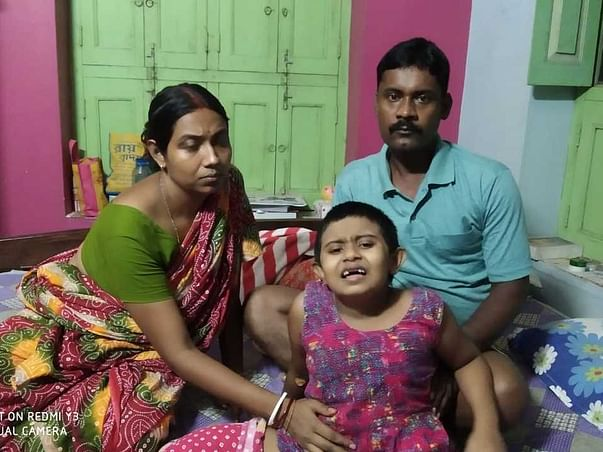 7 years old Titli Mondal needs your help to fight Bone Cancer