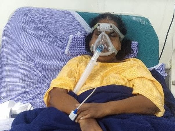 Help Gurram Ramulamma to fight COVID-19 AND Respiratory Failure