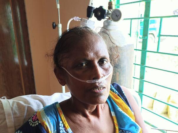 Help Ms. Kabita Sardar To Fight Against Lung Cancer