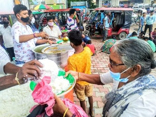Distribute Food For Needy People