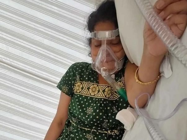 Give A Small Contribution For My Aunt So That She Can Smile Again