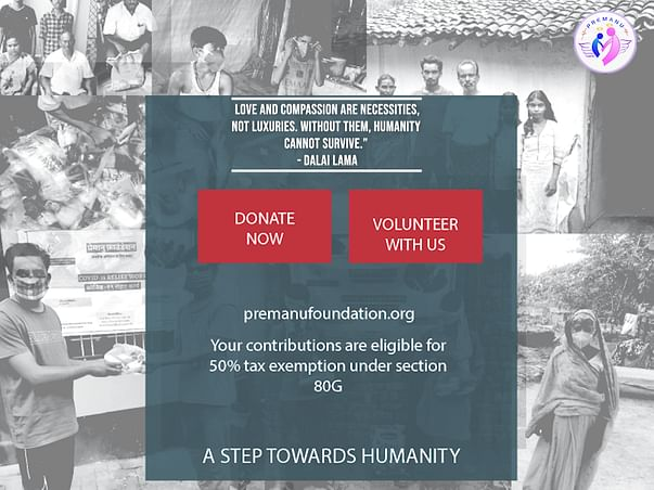 Support Premanu Foundation's COVID Relief Efforts
