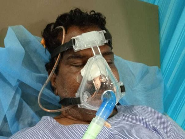Help My Father (Devakrishna) To Fight Covid With 80% Life Risk