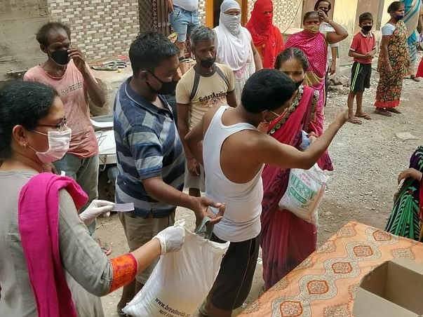Support Covid Frontline Workers  Distribution of Ration & Hygiene Kits