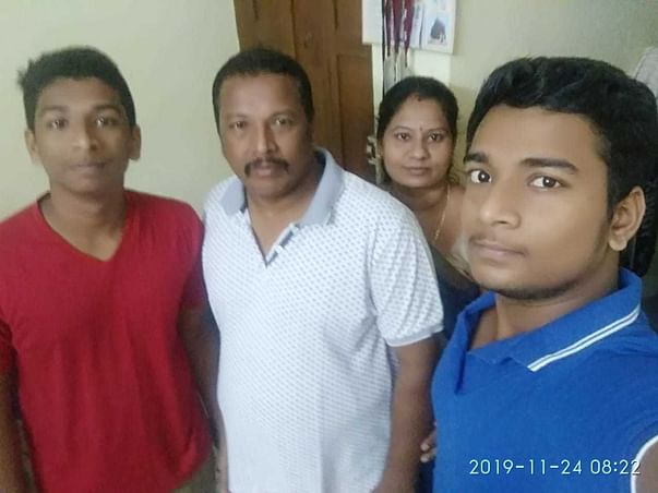 Family lost their father due to covid-19 and help for their education