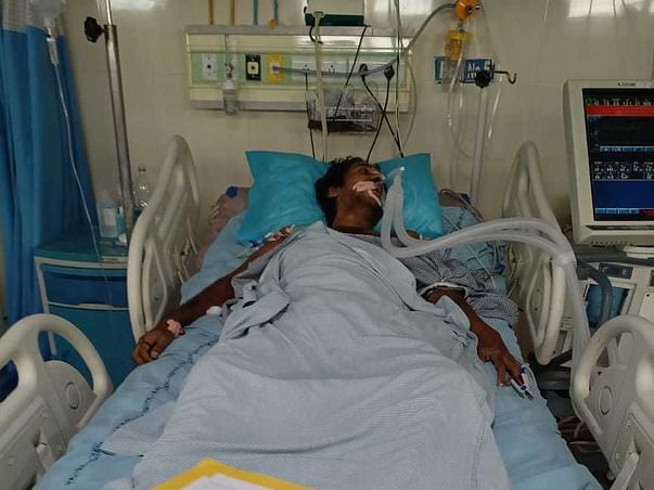 Help Suresh To Recover From ARDS(Breathing Issues)