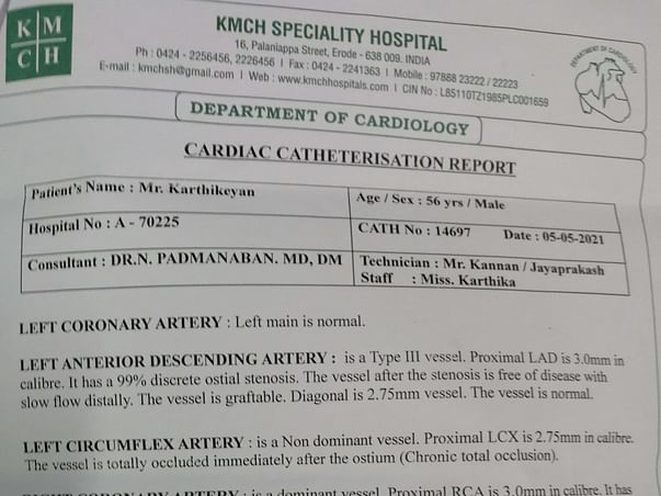 Help My Father To Undergo Open Heart Surgery