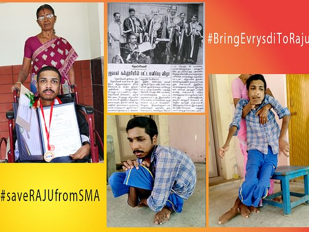 Support Rajasekar Recover From Spinal Muscular Atrophy