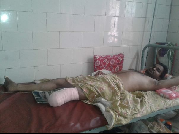 Support Anil Kumar Behera To Recover From Leg Injury