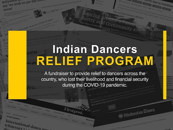 Support The Livelihood Of Indian Dancers