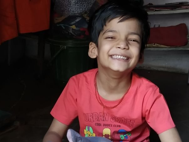 Support Ansh To Complete His Education.