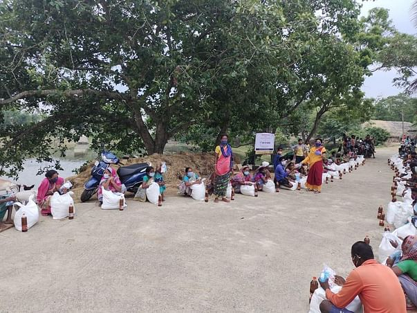 Standing With People During Water Crisis … (Cyclone Yaas Affect))