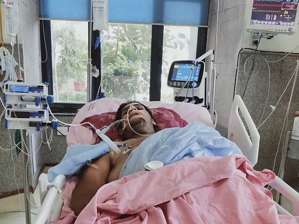 23 Year Old Sachin Needs Your Help To Fight Lung Infection.