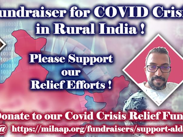 Donate to our Covid Crisis Relief Fund !