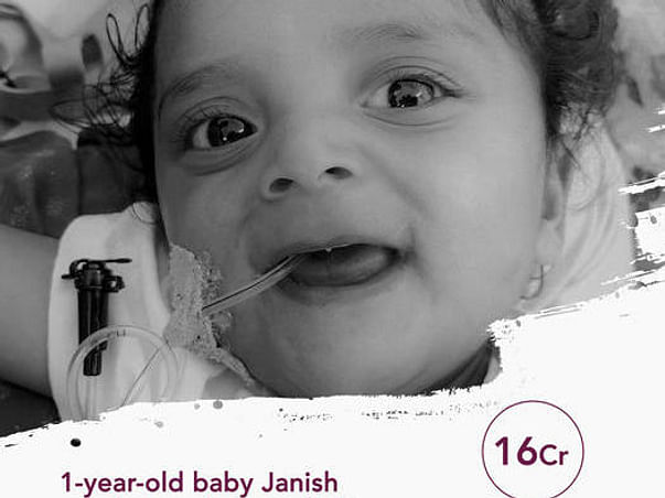 Help Praveen Raise Funds For Janish