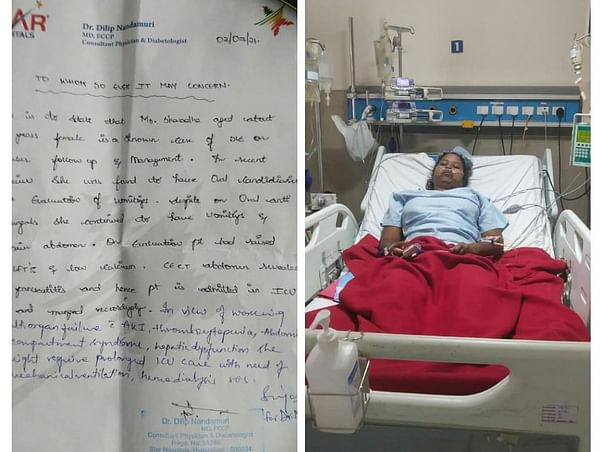Help My Aunt Sharadha Recover From Multiple Disease