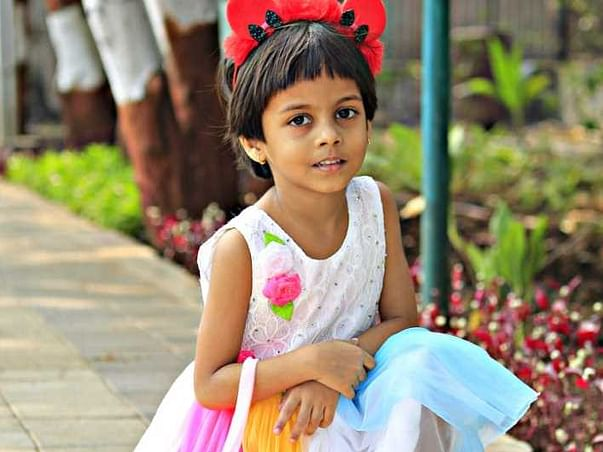 4 Years Old Lavanya Sandip Choudhary Needs Your Help Fight Heart Transplant