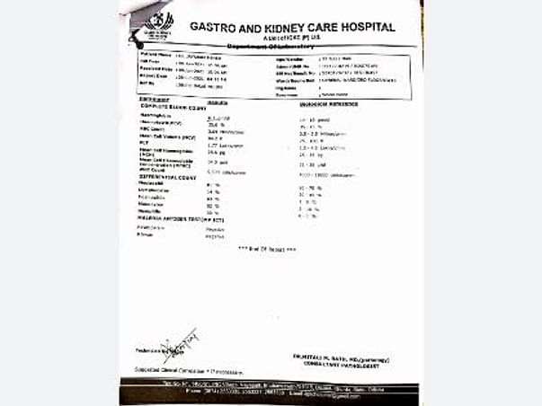 Help My Brother To Undergo Liver Transplant