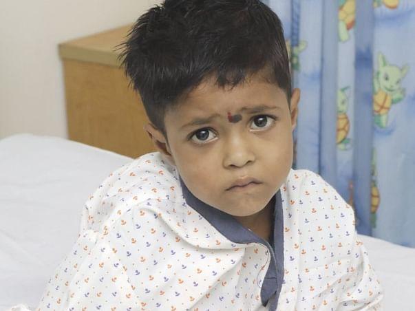 Help my son fight Cyanotic congenital heart disease