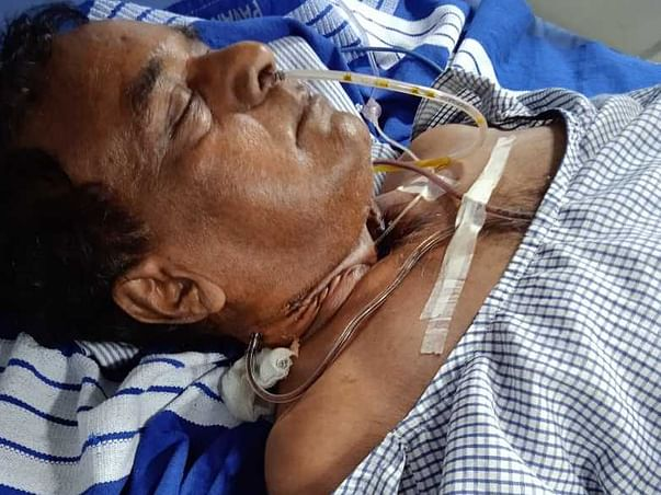 Help My Colleague Whose Father Is Fighting Throat Cancer