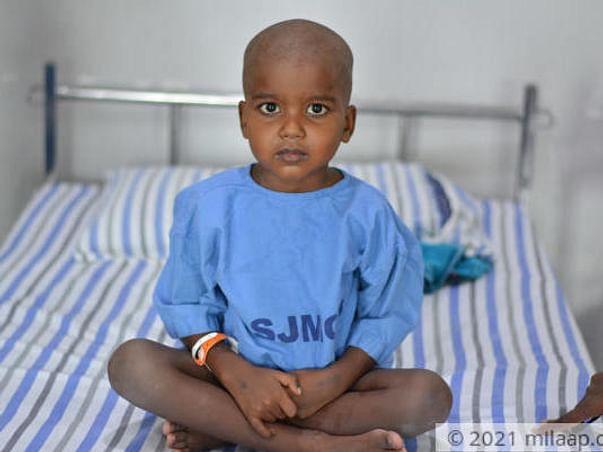 5 Years Old Chandira Shekar Needs Your Help Fight T-Cell Acute Lymphoblastic Leukemia