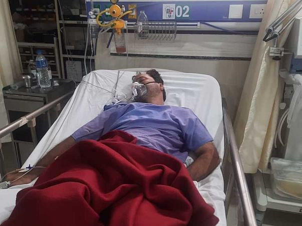 Support 50 Yrs/O Radheshyam Parmar To Recover From Brain Hemorrhage