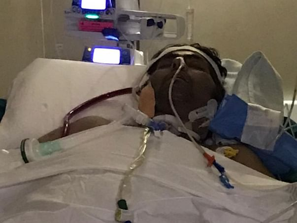 This 41 Years Old Needs Your Urgent Support In Recovering  Lung Infection Due To Covid