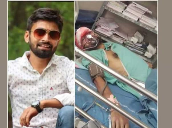 Help To Recover Rajesh From Accident Injuries