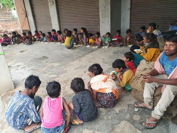 Feeding India's Beautiful Street Children
