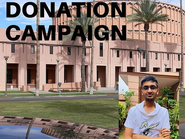Support Sanyam Pursue Higher Education.