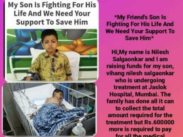 Help Vihang In His Fight Of Budd-Chiari Syndrome