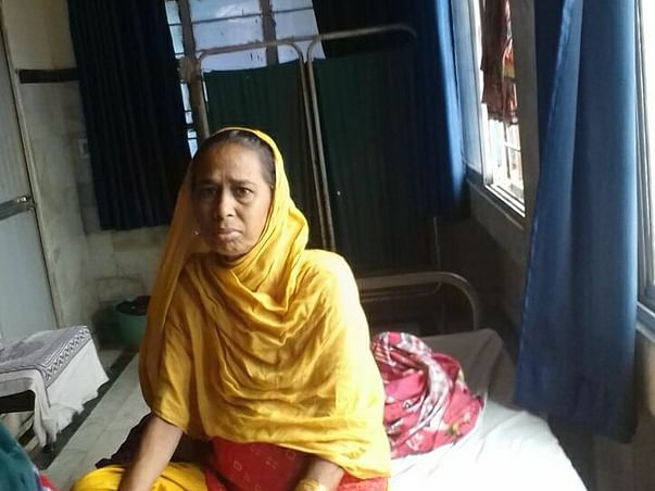 Help Samima Khatun To Recover From Lung Cancer