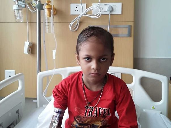 5 years old Sampad Mondal  needs your help fight Blood Cancer
